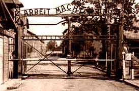 Auschwitz main gate