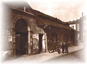 Kazimierz Jewish quarter in the early 20th century