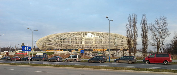 Krakow Arena is the city's chief venue for sports events