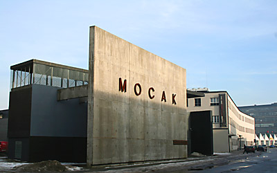 Buildings of the Museum of Contemporary Art in Krakow and Schindler's Factory