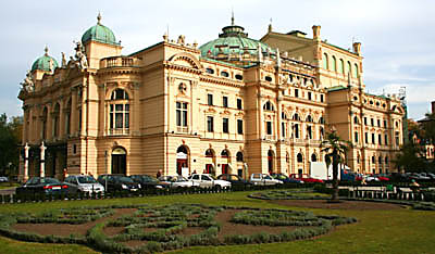 Slowacki Theater in Krakow