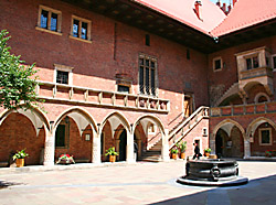 Collegium Maius, the Great College of the Krakow University